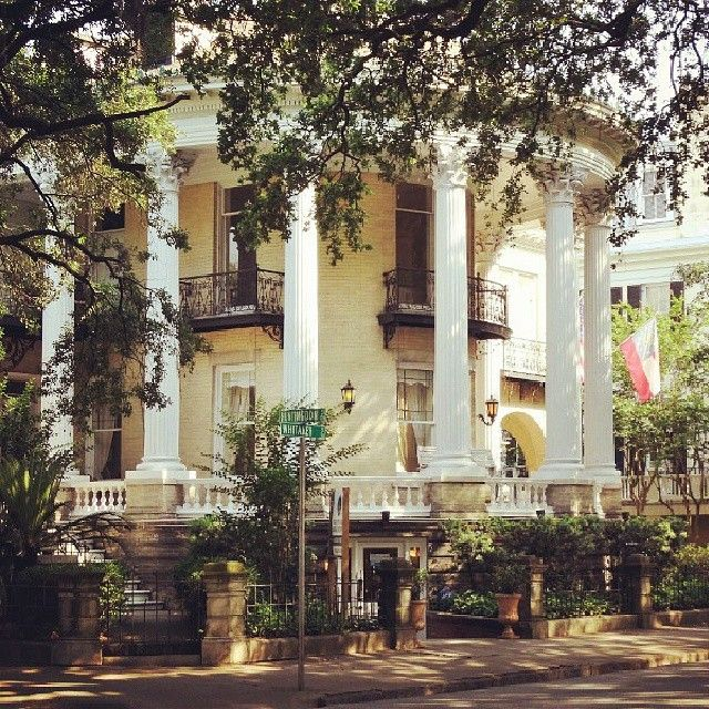 The Metts Mansion on Whitaker Street in Savannah, GA