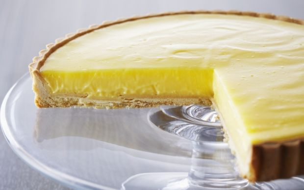 Anna Olson's Tarte au Citron by Anna Olson (Lemon) @FoodNetwork_UK