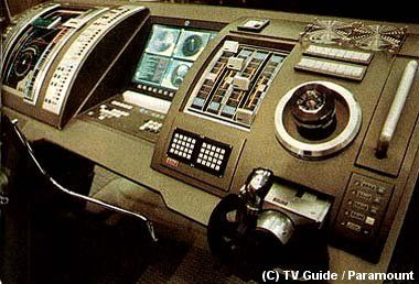 Helm console from Star Trek: Enterprise