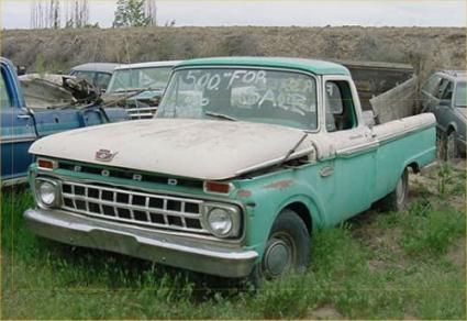 1966 FORD TRUCK PARTS CAR RESTORATION IS ALL ABOUT THE DETAILS