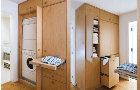 Oh I like this laundry room idea