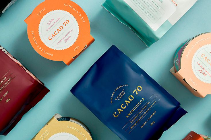CACAO 70 / Brand Identity. This article is part of the Daily Inspiration from HeyDesign. We bring you interesting content by designers, artists and photographers from around the world who pursue their passion and create magnificent artwork. We want to share high-quality designs to inspire your day and help you in your creative process.   HeyDesign.com