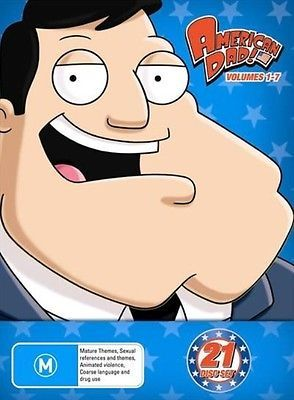 #American dad : #season 1-7 | #boxset - dvd region 4,  View more on the LINK: http://www.zeppy.io/product/gb/2/131827718768/