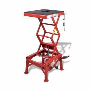 Table élévatrice rouge 135 kg - Achat / Vente lève-moto Table élévatrice rouge 135 ... - Cdiscount
