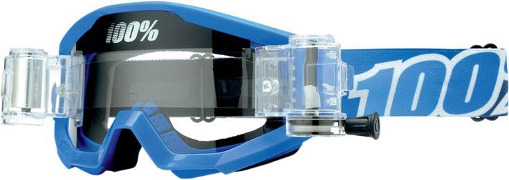 100% Strata SVS Motocross Goggle SpeedLab Vision Lense Adult