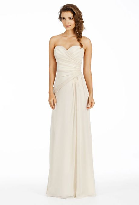 17 best ideas about Strapless Bridesmaid Dresses on Pinterest ...