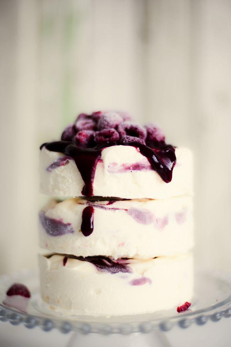 mmm layered berry and vanilla icecream