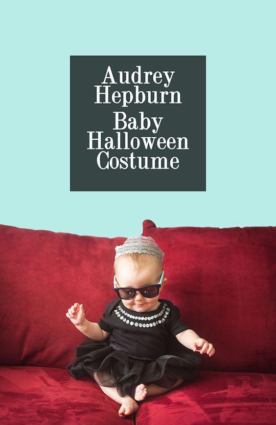 DIY Audrey Hepburn Baby Halloween Costume   Creative House Blog