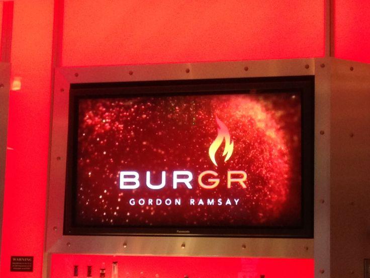 Gordon Ramsay BurGR in Las Vegas, NV
