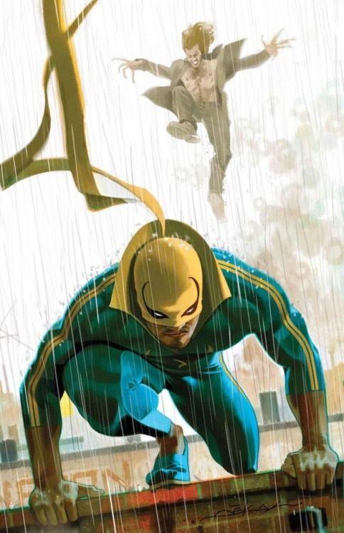 Comic Book Artwork • IRON FIST