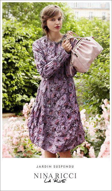 Nina Ricci handbag campaign turns artsy with GIFs « fashion and mash