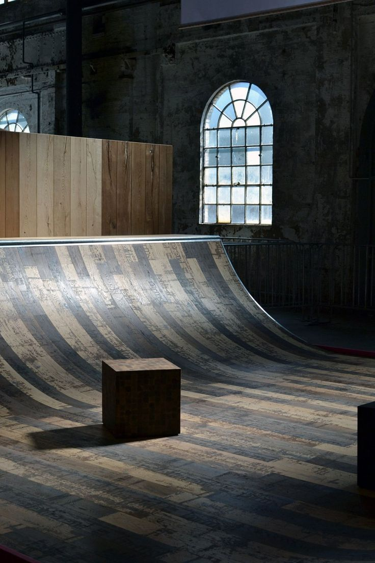 when furniture design meets ramps … skate ramp | @SingleFin_