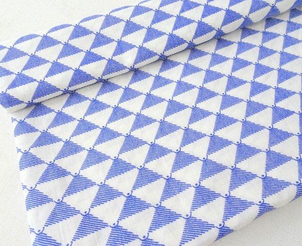 Blue cotton fabric, geometric Indian cotton fabric, block print cotton, tissu indien, indian fabric, half yard by ChezviesFabrics on Etsy https://www.etsy.com/in-en/listing/202722058/blue-cotton-fabric-geometric-indian