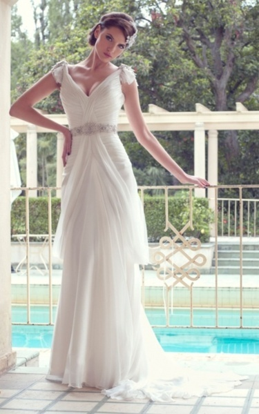 bridal gown #weddingKaren O'Neil, Ideas, Wedding Dressses, Bridal Collection, Bridal Dresses, Karen Willis Holmes, Gowns, Cap Sleeve, Beach Wedding Dresses