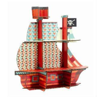 Display Shelves- Pirate Ship