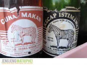 Kecap dan Cuka Cap Zebra