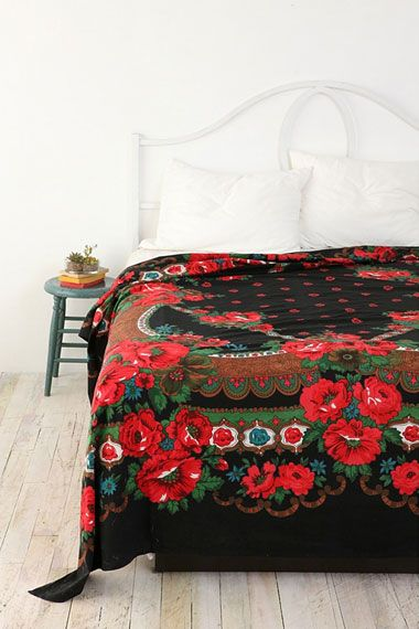 Russian Rose Tapestry Throw by Urban Outfitters UK