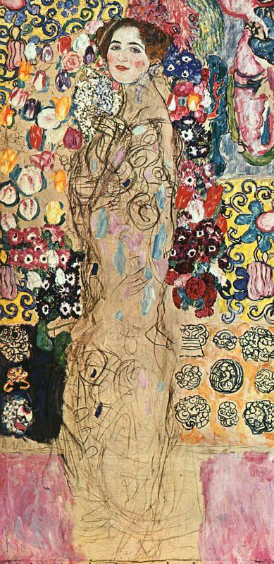 Gustav Klimt 'Retrato de Ria Munk'