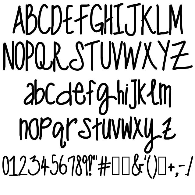 ONE MAN WOLF PACK FONT