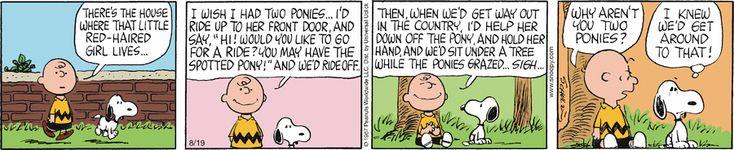 Peanuts  ~  August 19, 1967
