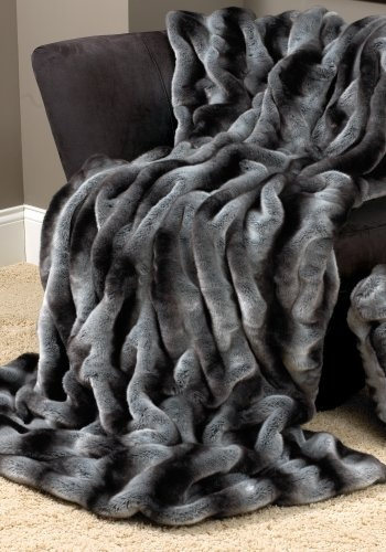 Snuggly! Faux fur blanket    Even better if it was in Snow Leopard!