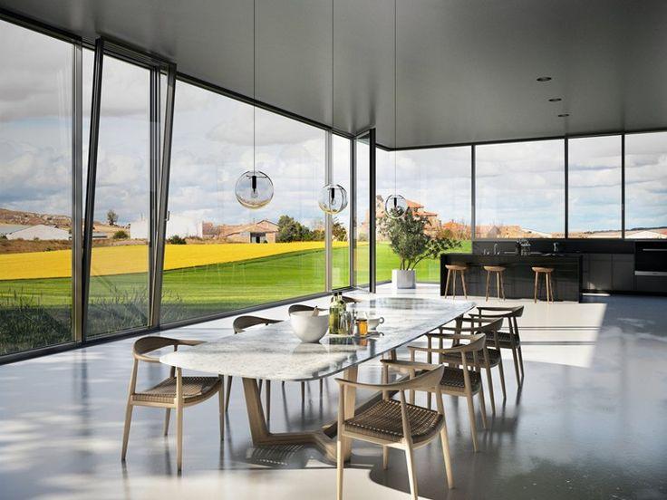 Aluminium Continuous facade system Schüco FWS 60 CV by SCHÜCO INTERNATIONAL ITALIA