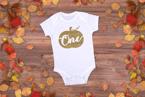 This boho chic pumpkin first birthday outfit is perfect for the birthday girl or boy photo shoot or to wear during their first days as a