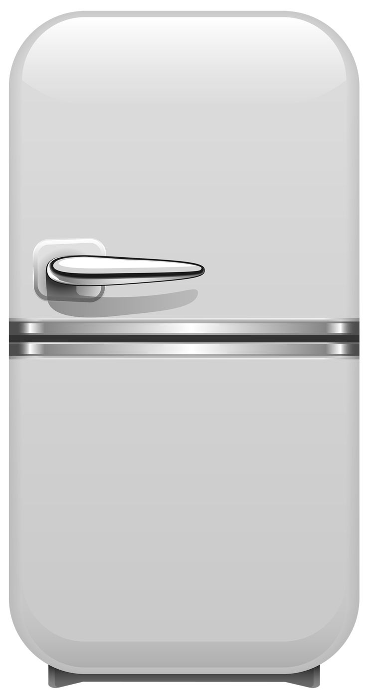 refrigerator clipart png. white retro fridge png clipart refrigerator png