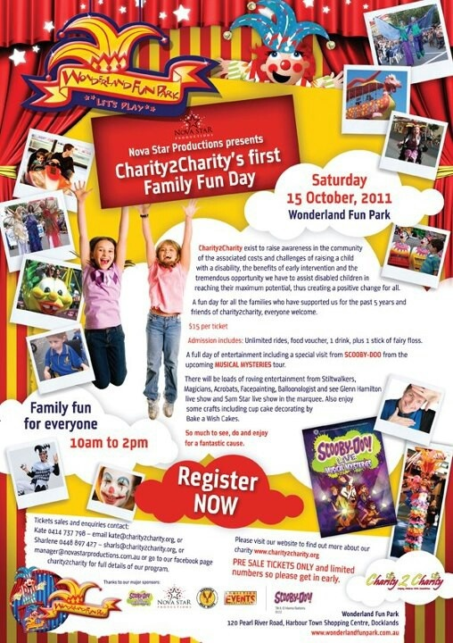Family fun day for Charity2Charity by #novastarproductions