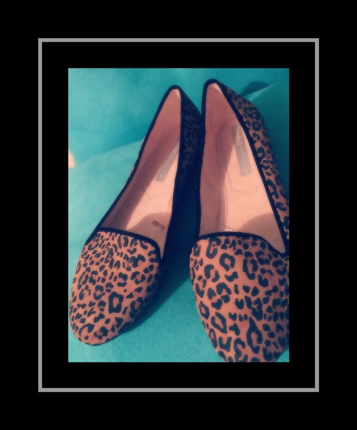 Animal print + shoes