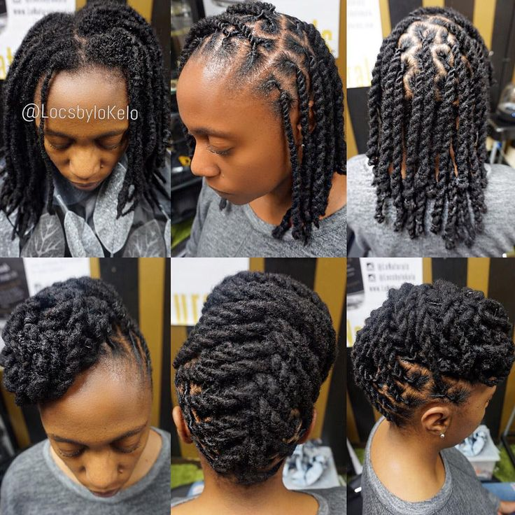 "1,911 Likes, 15 Comments - The King Of LOCS (@locsbylokelo) on Instagram: ""2strand twist ✖️ Updo Perfect 2n1 style   Charlotte NC all weekend.  