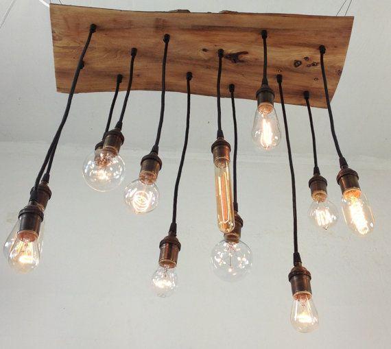 Funky Rustic Galvanized Pendant Light Via Etsy: 1000+ Images About Edison Lighting On Pinterest