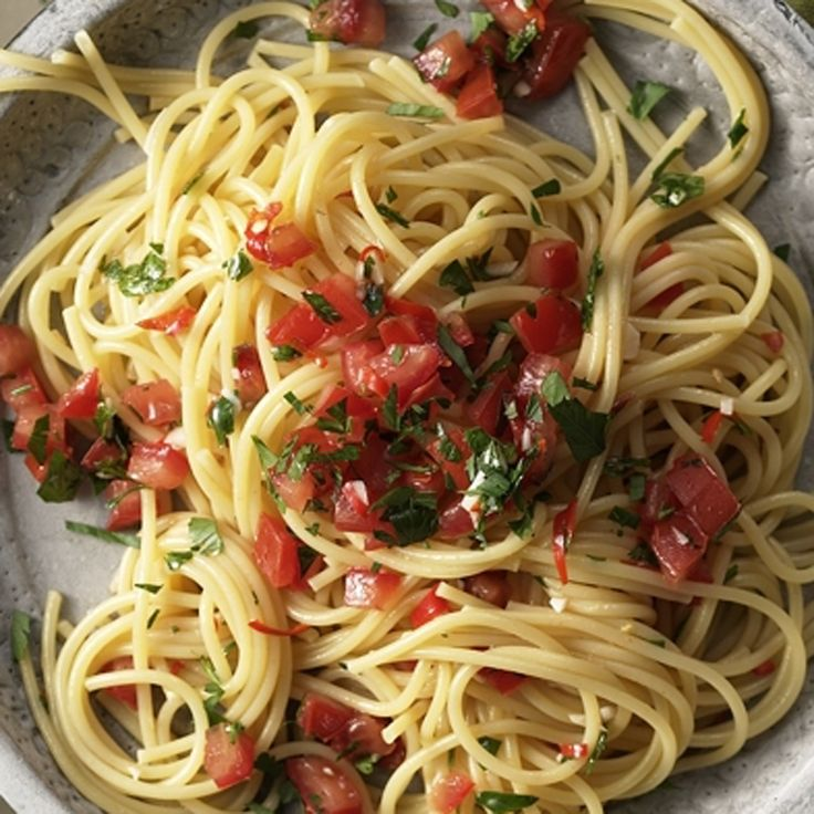 Spaghetti aglio e olio | Weight Watchers