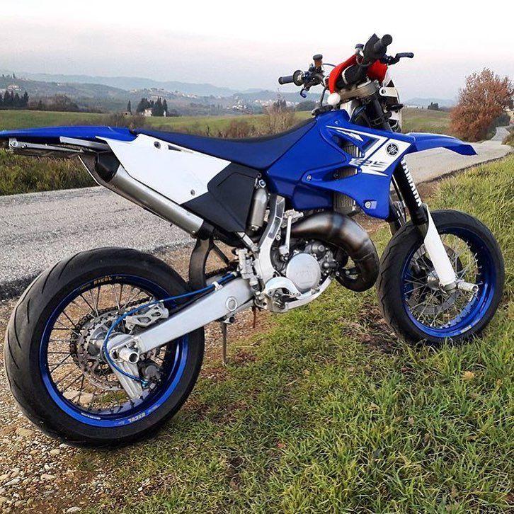 15 Yamaha Yz125 Yamaha Supermoto Motocross Bikes Supermoto