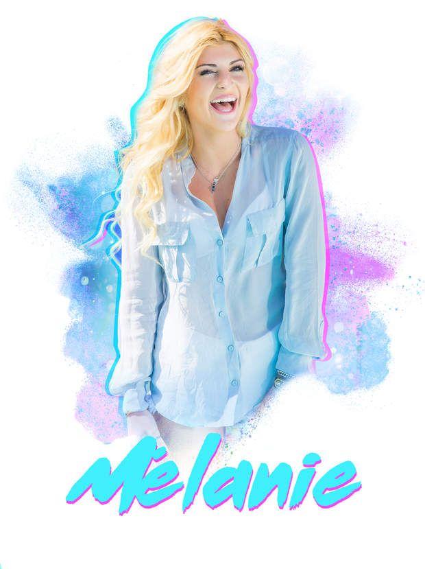 Mélanie espère être modèle photo