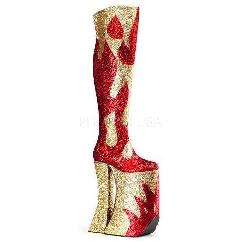 These boots are definitely not made for walking but if the 1970's is your thang.......available from funkyfings.com