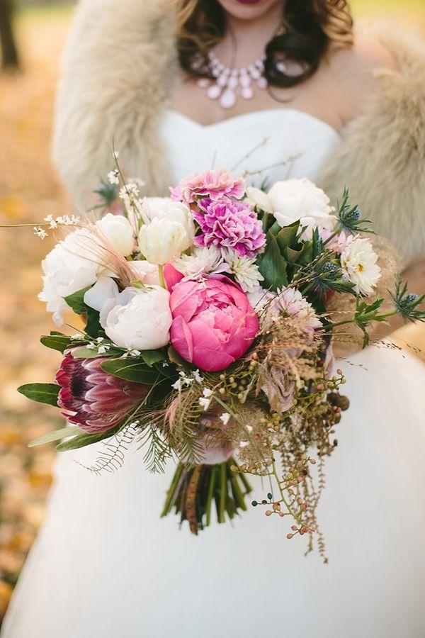 Oversized peony bouquets.