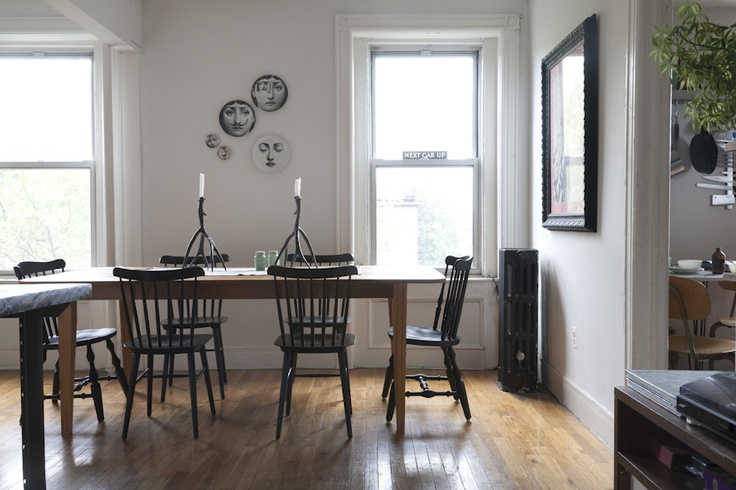 DWR Salt Chairs, Hardwood Floors, Windows, White Walls | Sanctuary |  Pinterest | Walls, Room And Dining