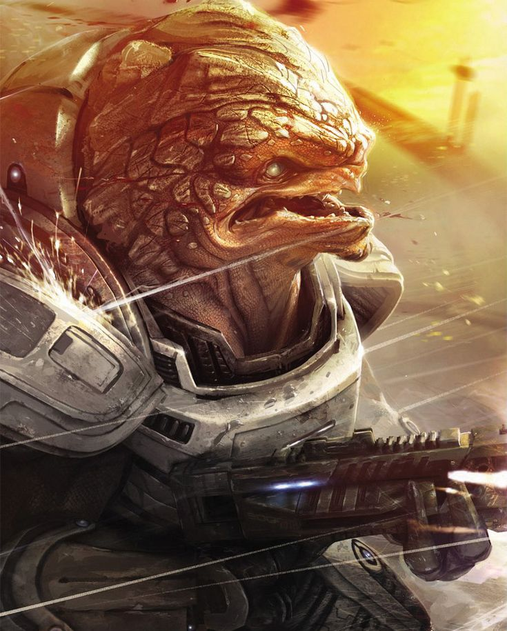 Grunt - Pictures & Characters Art - Mass Effect 2