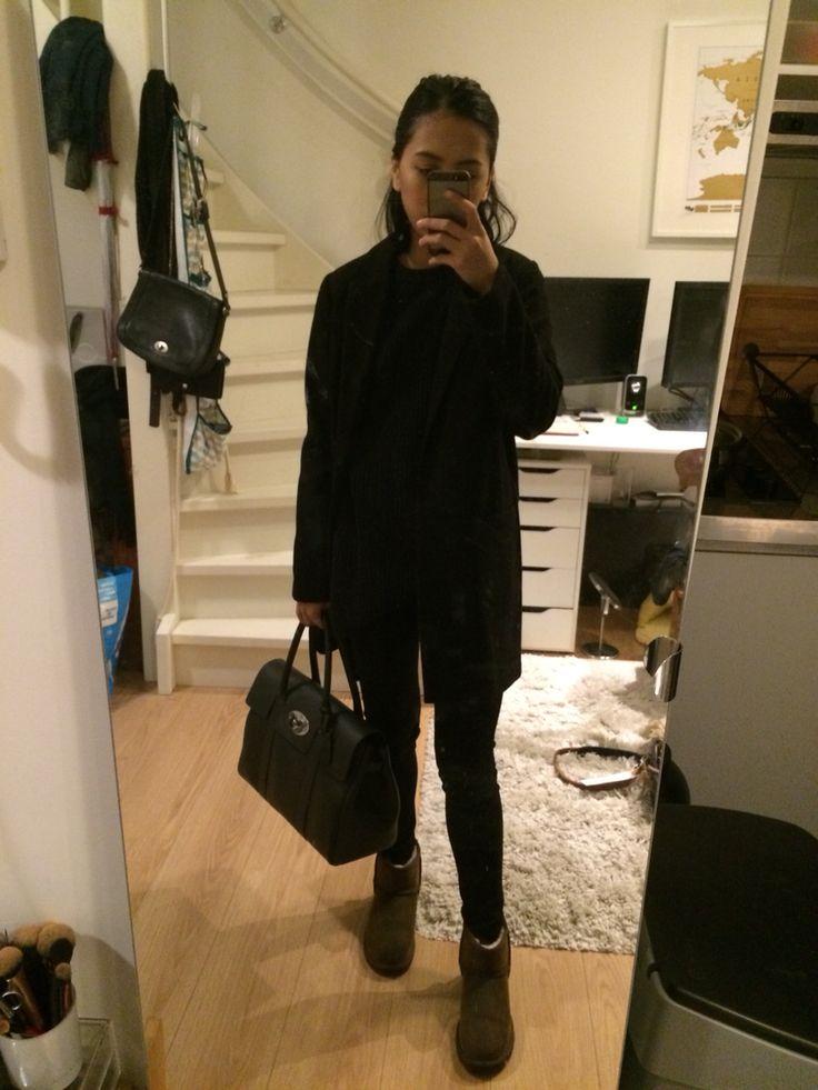 Primark coat • Zara kids sweater • Lee cooper jeans • Ugg australia boots • Mulberry bayswater