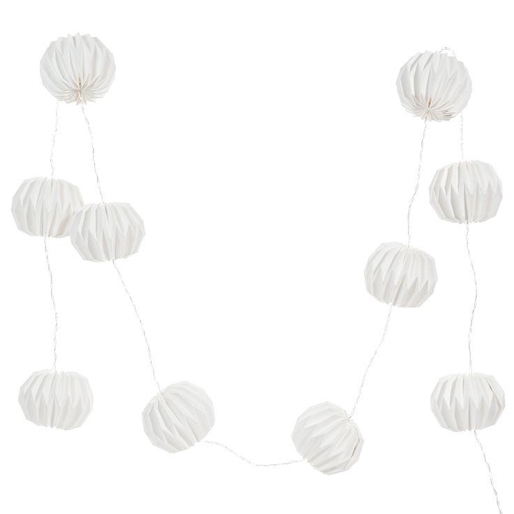 Guirlande lumineuse blanche STOCKHOLM Maison du Monde