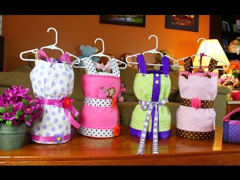 Dress Diaper Cake (How To Make) you have to see what this lass can do :) she is good :))