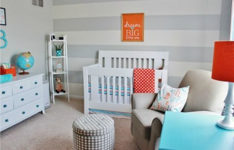 Gender Neutral Nursery Ideas - Unisex Nursery Color Ideas