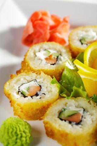 Alaska sushi rolls