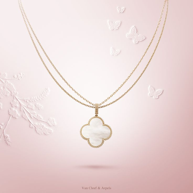 70 best van cleef arpel alhambra images on pinterest van cleef van cleef arpels magic alhambra 1 motif long necklace vcaalhambra aloadofball Image collections