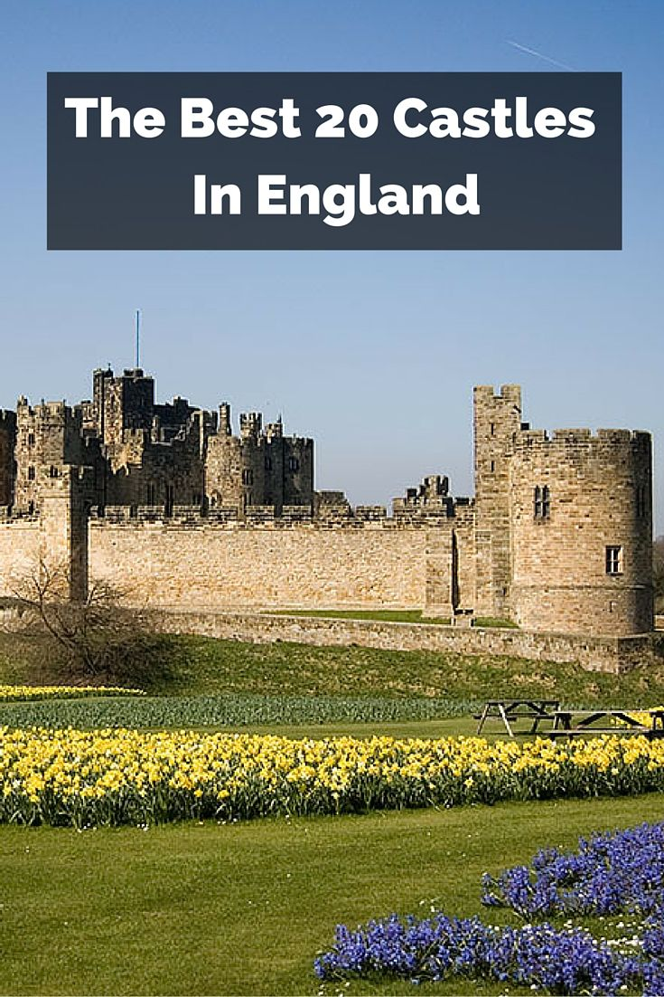 Take a look at some of the most monumental castles in England and learn about the rich history of these awe-inspiring structures.