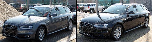 Audi A4 Avant station wagon km zero in offerta in Veneto: sconto 25% per le 2.0 TDIe 136cv F.AP. S-Line con fari allo Xeno, navigatore e Bluetooth