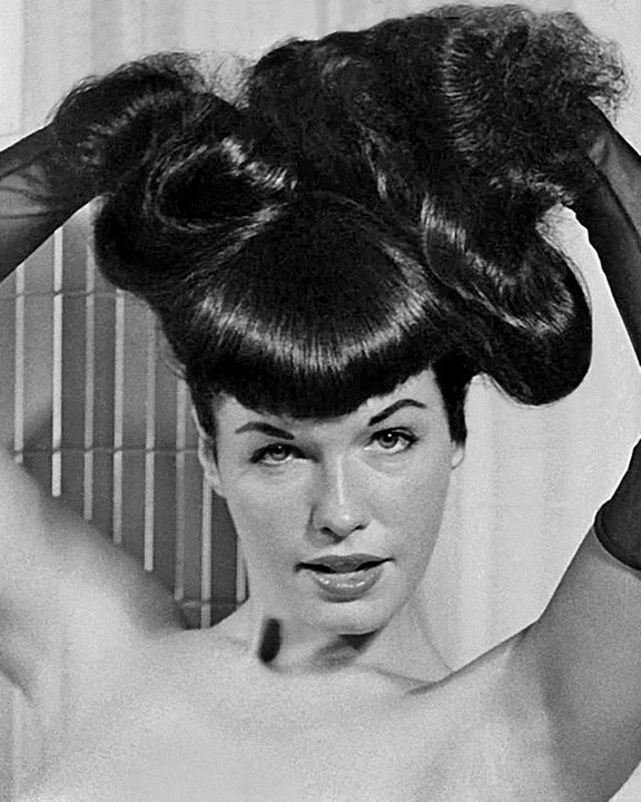 Bettie Page, 1950s