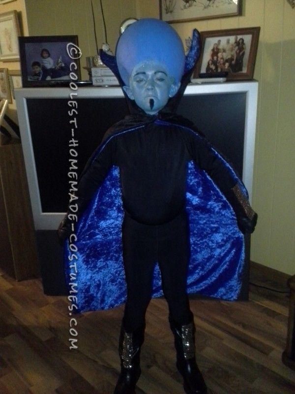 Coolest Homemade Mega Mind Costume ... Great Instructions