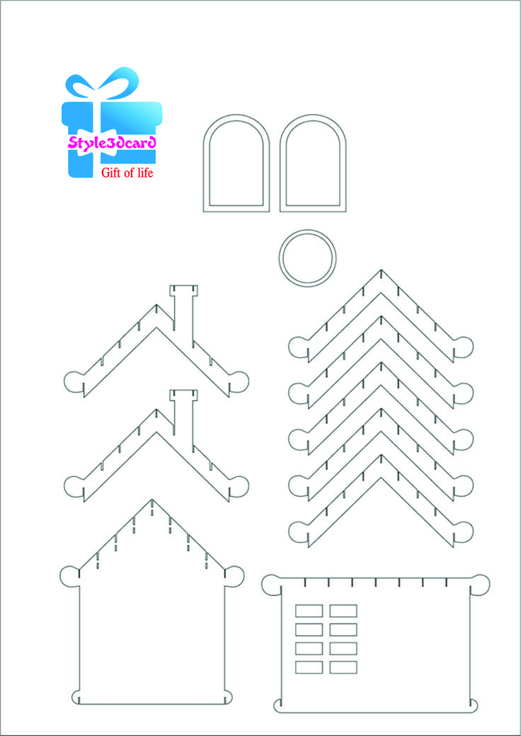367 best images about pop up kaarten on pinterest paper for Kirigami paper art